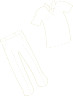 illustration of a garments